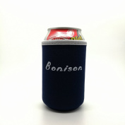 Bonison Nylon Can Sleeve Coloful Assortment Protection Sweat Absorption Insulation Can Holder For Beer Cola Coke Can
