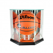 NBA Octagon Basketball Glass Display Case