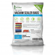 Heavy Duty Vacuum Bags Storage Set, Premium High Strength Seal Space Saver - SAVING SPACE = SAVE MONEY