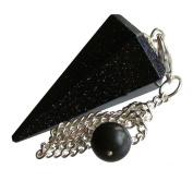 Healing Gemstone Crystal Point Pendulum - Divination, Dowsing, Scrying