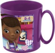 Joy Toy Disney Doc McStuffins 748904 Cup for Microwave Oven, 350 ml, 10 x 9 cm