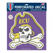 NCAA Perforated Vinyl Decal