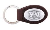 NCAA Auburn Tigers Leather Concho Key Fob