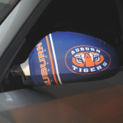 Auburn Tigers Side View Mirror Covers (Set of 2) Small and Large Sizes for Cars, Trucks and SUV's Officially Licenced NCAA Auburn University