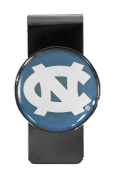 NCAA Stainless Steel Dome Money Clip