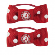 NCAA Bow Pigtail Holder