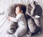 MFEIR® Elephant Baby Children's Sleep Stuffed Soft Plush Cushion Animal Plush Toys ,Grey 60cm