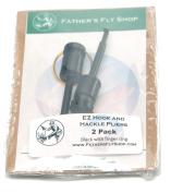 EZ Hook & Hackle Pliers - 2 Pack