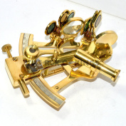10cm NAUTICAL SCOUT'S BRASS NAUTICAL SEXTANT ASTROLABE GIFTS MARINE NAVIGATION SALE NAVIGATION BRASS POLISHED SEXTANT