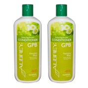 Aubrey Organics GPB Balancing Protein Conditioner Rosemary Peppermint With Organic Aloe, Olive Oil, Glycoprotein and Milk Protein, Normal Hydrate, 11 fl oz (325 ml)