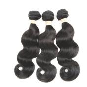 ALLRUN Brazilian Virgin Hair Body Wave 3 Bundles Brazilian Body Wave Mink Brazilian Hair Weave Bundles 7a Grade Human Hair Extensions