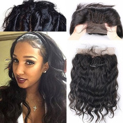 Fushen Hair 360 Lace Frontal Closure Brazilian Virgin Body Wave Hair Weave Lace Frontals 25cm