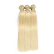 ALLRUN 613 Blonde Virgin Hair Straight 3 Bundle Deals Blonde Brazilian Hair Weave Bundles Honey Blonde Weave Brazilian Virgin Hair