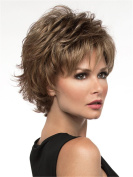 Short Women Wigs Fluffy Curly Synthetic Wig