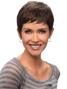 Short Cool Women Wigs Synthetic Female Wigs