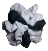 Scrunchie Set, 9 Thermal Cotton Scrunchies, 90s Style