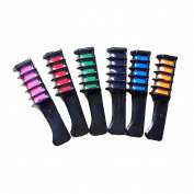 Sanling Temporary Hair Comb Wash Out Colours Hair Chalk Dye Salon Tools