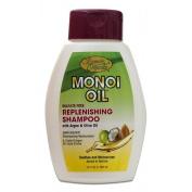Smooth Organics Monoi Oil Sulphate-Free Replenishing Shampoo 380ml
