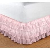 Organza Crib Dust Ruffle- Colour
