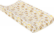 MiracleWare Muslin Changing Pad Cover, Giraffes and Lions