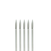 5-pack Piercing Needles Sealed and Sterilised 18 Gauge By Eg Gifts