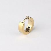 Adecco LLC Men Women 316L Stainless Steel Unique Small Hoop Earrings Huggie Ear Piercings Hypoallergenic