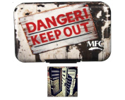 MFC Optional Leaf Poly Fly Box - Danger Keep Out - Leaf Included