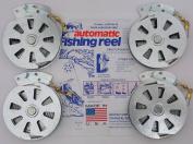4 Mechanical Fisher's Yo Yo Fishing Reels -Package of 4 Reels- Yoyo Fish Trap -
