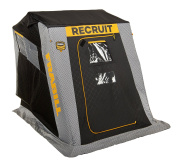 Frabill Recruit 1250 Insulated Flip-Over Front Door W/ Boat Seat