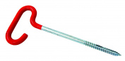Eagle Claw Ice Eye Bolt Shelter Anchors, Red