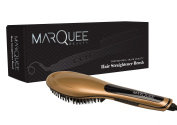Marquee Ionic Hair Straightener Brush With LED Display -Upgraded Version