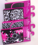 Styling Tool Case in Black/White/Pink