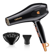 Chic Belle Professional Hair Dryer Ionic Strong Wind Black