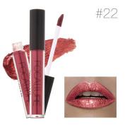 Perman Lipstick Women Sexy Cosmetics Lips Metallic Lip Gloss