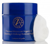 Signature Club A by Adrienne Precious Moroccan Argan Oil Cleansing Makeup Remover Pads