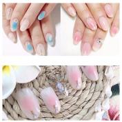 Nail Art, RIUDA DIY Handle UV Gel Nail Art Tip Care Pen Brush Manicure Tool
