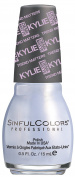 SinfulColors Kylie Jenner Trend MATTErs Collection Pure Velvet Mattes, Kurtsey (Pale Blue Pearl) 15ml