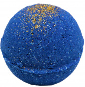 Bath Bomb 160ml Lust of Cleopatra Deep Blue Lustre Bath with Kaolin Clay & Coconut Oil
