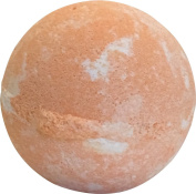 Sisters in Spa Sun-Tastic Orange Grapefruit Large 130ml Organic and Natural Bath Bomb with Essential Oils - Made in the USA
