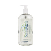 Safetec SaniWash Antimicrobial Handwash - 470ml Bottle