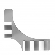 Beard Trimming Comb Stainless steel Beard Styling & Shaping Template-Gap