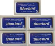 Bluebird Double Edge Razor Blades, 25 blades