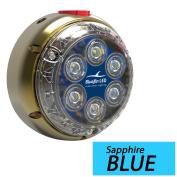Bluefin LED DL12 Underwater Dock Light - Surface Mount - 24V - Sapphire Blue