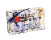 Alchimia MUSCHIO BIANCO (Whte Musk), Vegetable Handmade soap Bar from Italy