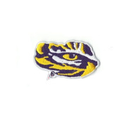 Louisiana State Tigers LSU Tiger Eyes Logo Iron On Embroidered Patch
