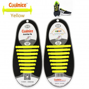 Coolnice No Tie Shoelaces for Kids, Men & Women   Waterproof & Stretchy Silicone Tieless Shoe Laces   for Athletic & Dress Casual Shoes, Hiking Boots   Eliminate Loose Shoelace Accidents