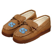 NCAA College Mens Team Logo Moccasin Slippers Shoe - Pick Team