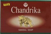 Chandrika Soap Sandal Soap -- 75 g - 2pc