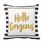 DATEWORK Sofa Waist Throw Cushion Cover Pillow Case Home Decor
