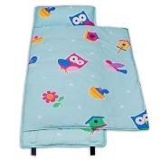 Olive Kids Birdie 100% Cotton Nap Mat in Blue